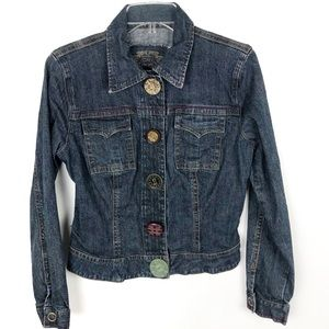 CAbi | Denim Jacket Unique Snap Buttons  390